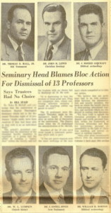 Courier-Journal article on the 1958 controversy