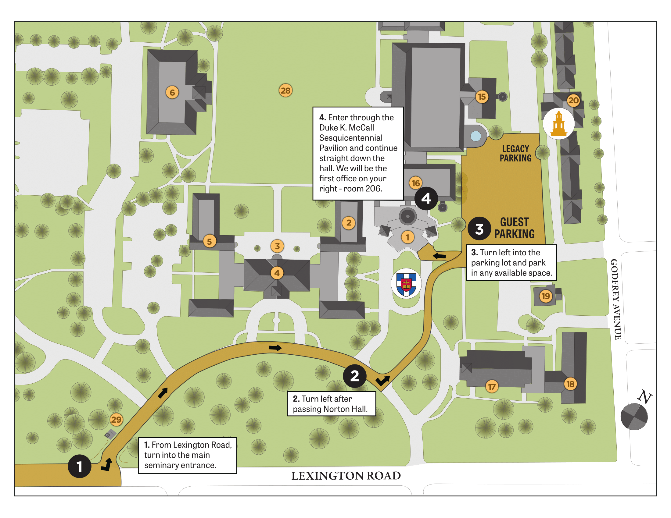 Campus Map - Boyce College on boyce college campus map, sbvc campus map, intel campus map, swbts campus map, sbcc campus map, church campus map,