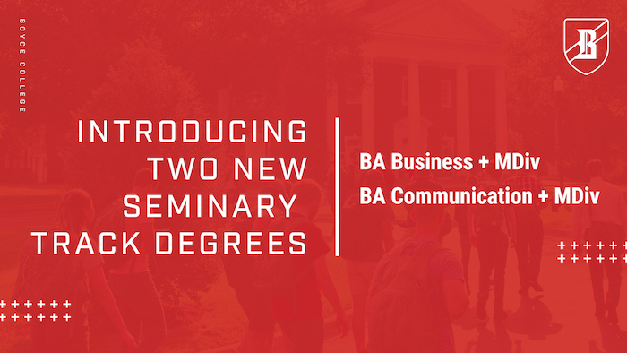 New seminary track programs