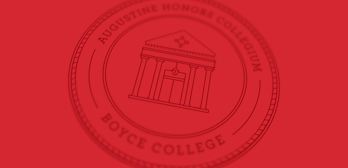 Boyce College seal