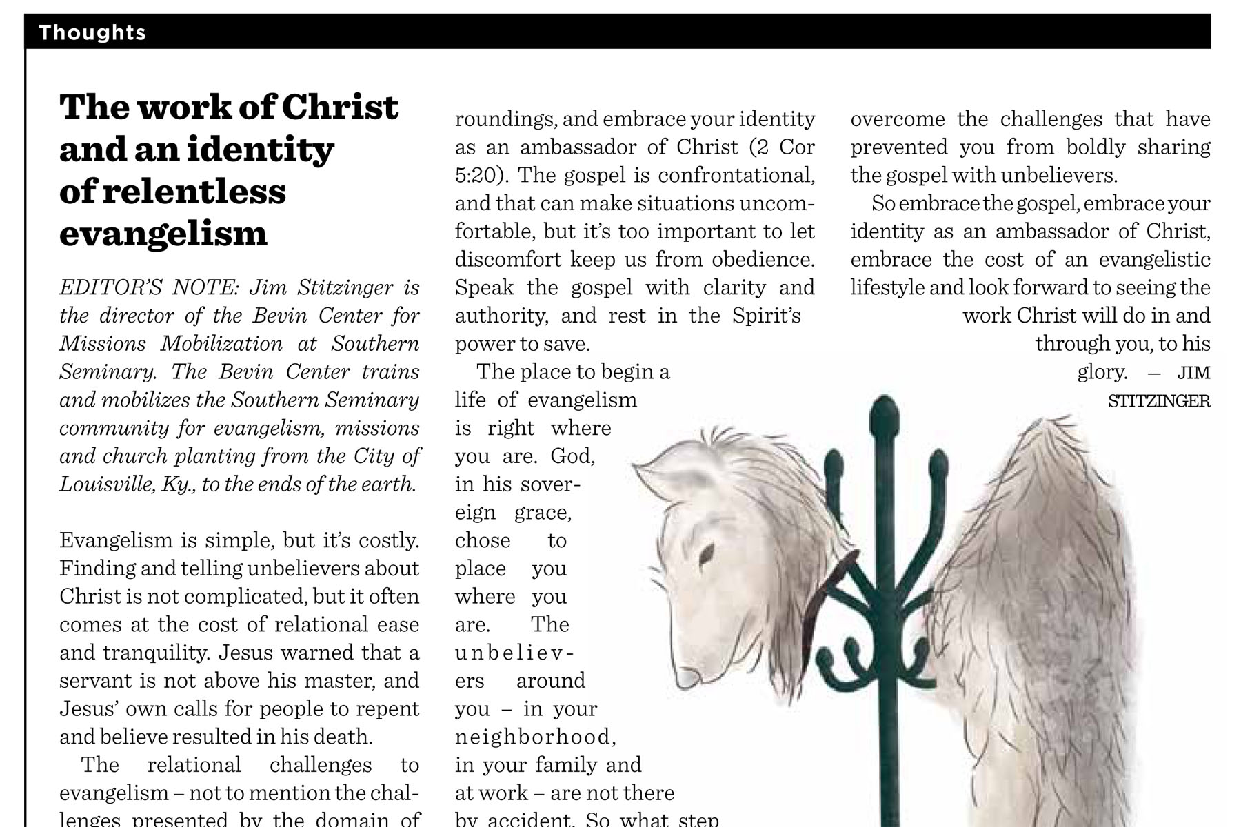 The Work of Christ and an Identity 