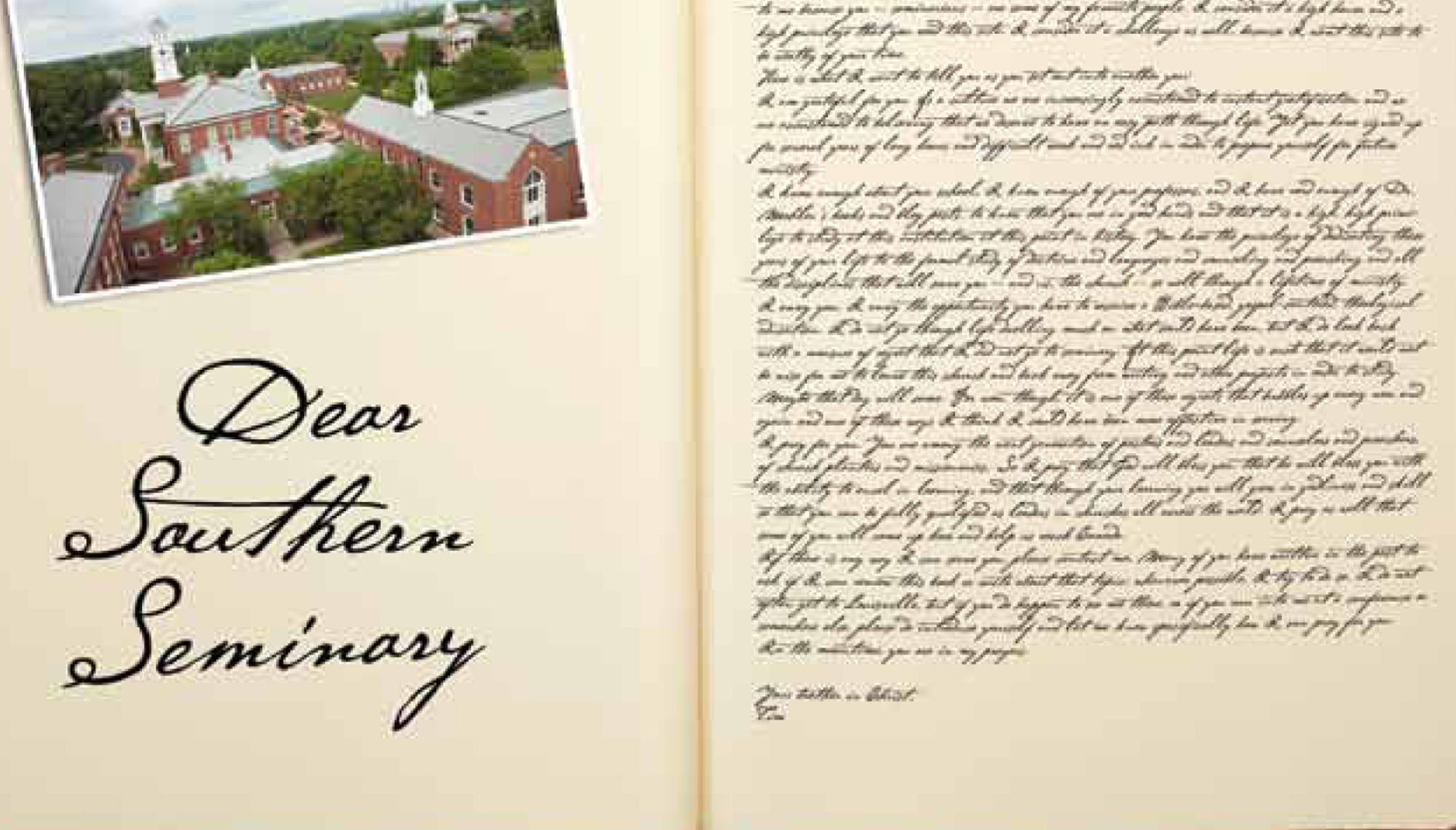 Dear Southern Seminary: Tim Challies writes letter to students at Southern Seminary