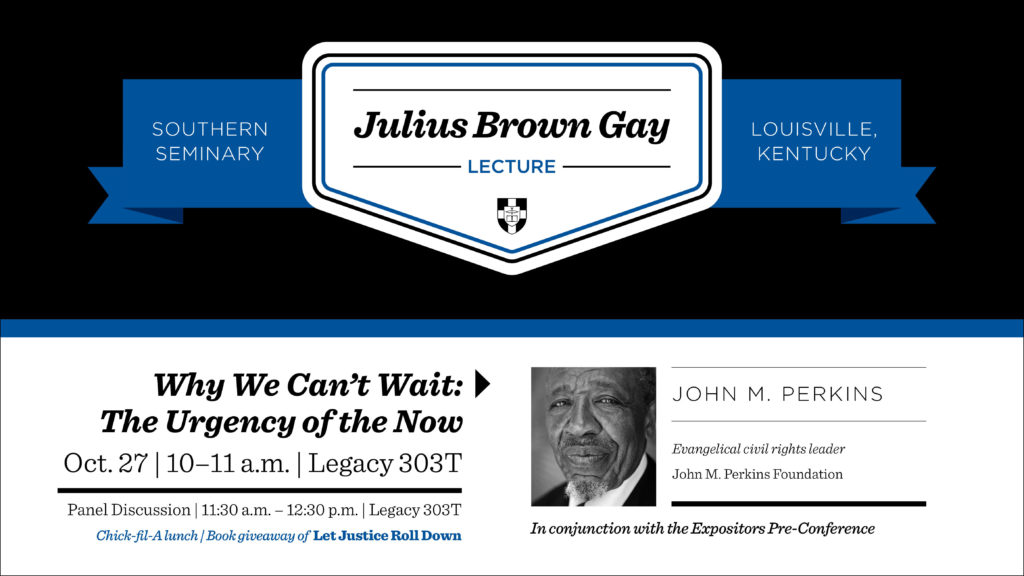 Julius Brown Gay Lecture with John M. Perkins