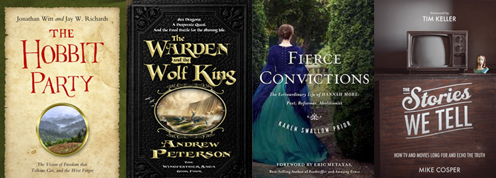Book reviews: 'The Stories We Tell,' 'The Hobbit Party,' 'The Warden and the Wolf King,' and 'Fierce Convictions'