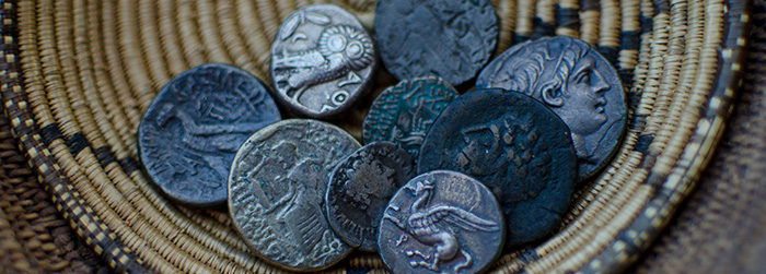 'Render unto Caesar':  The Kelly Blanton Numismatic Collection