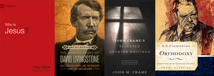 Reviews: 'Who is Jesus?' 'The Daring Heart of David Livingstone,' 'John Frame's Selected Shorter Writings,' 'Shepherding God's Flock'