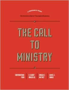 call to ministry journal