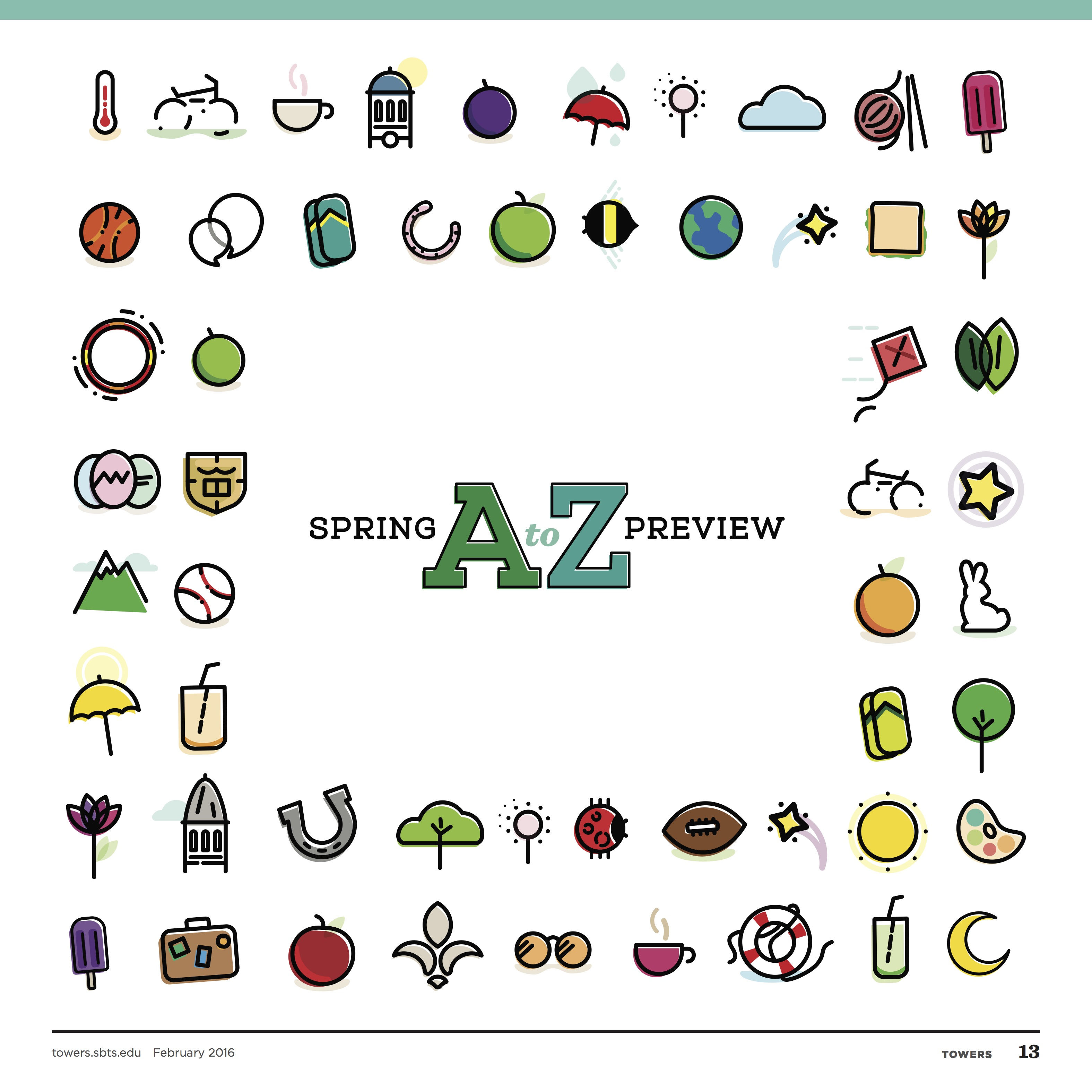 Spring Preview A to Z