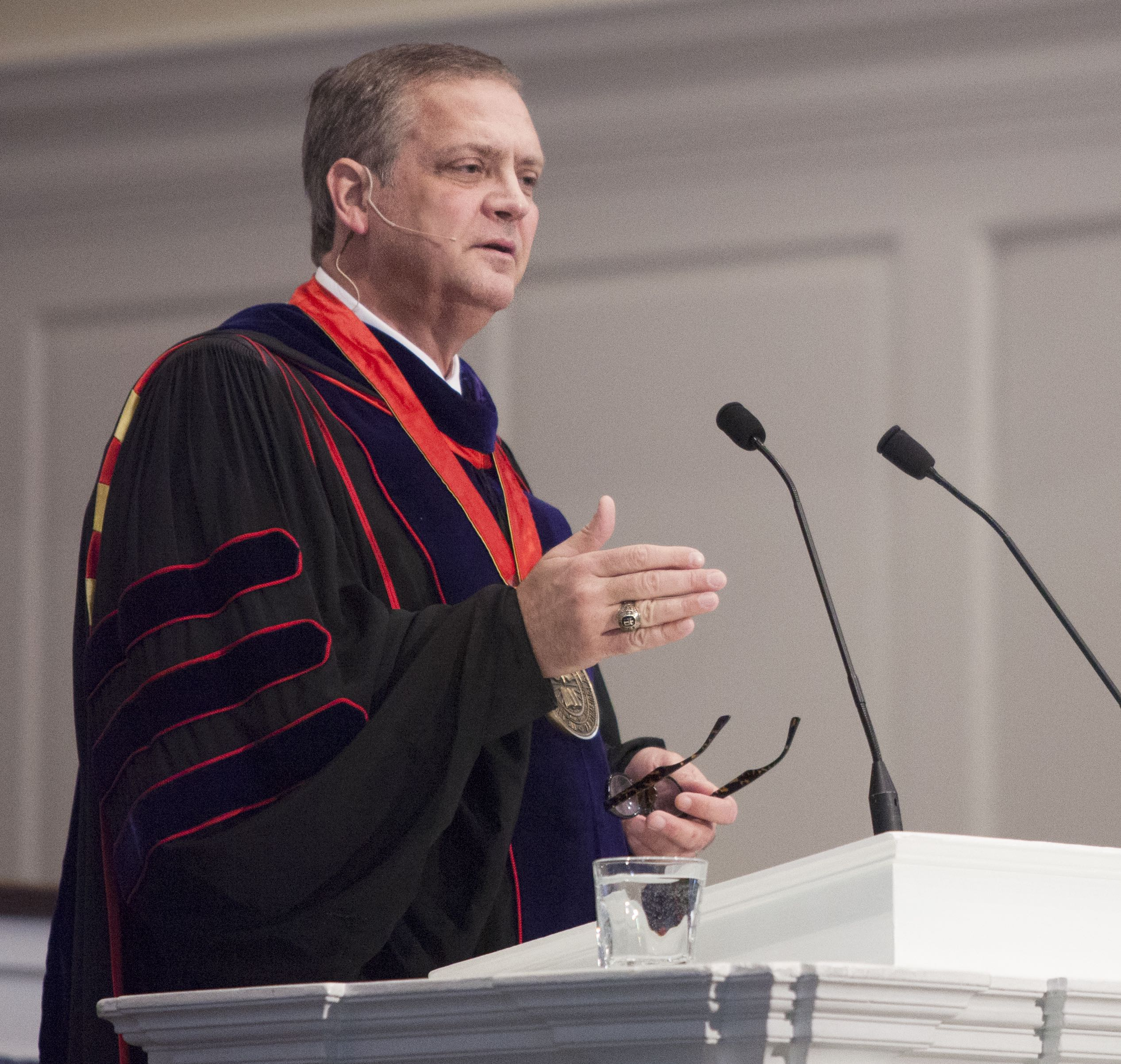 Dr. R. Albert Mohler Jr. at Spring Convocation