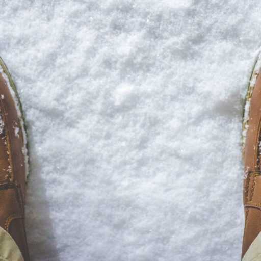 feet on ground