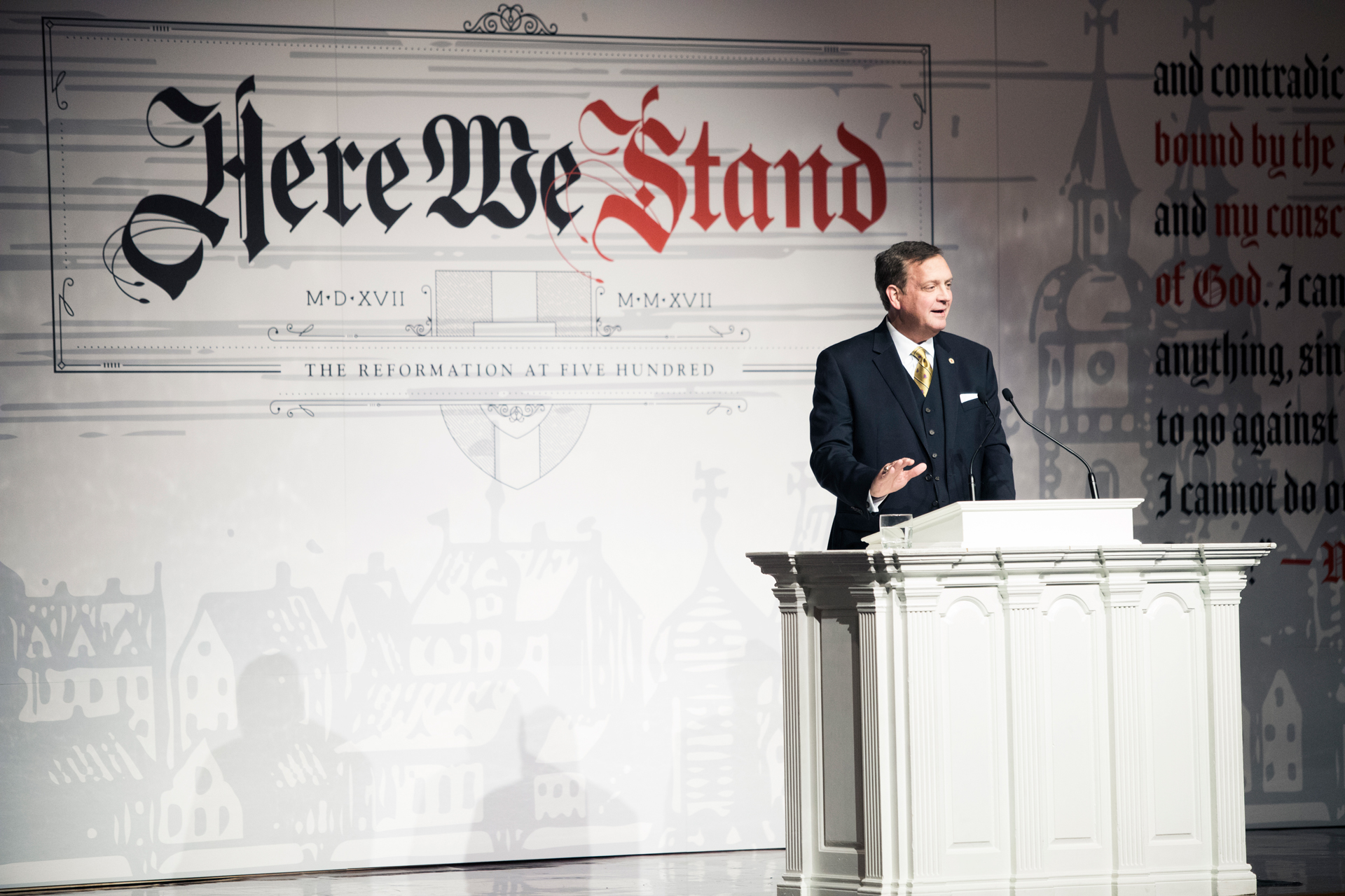 Mohler at Here we stand