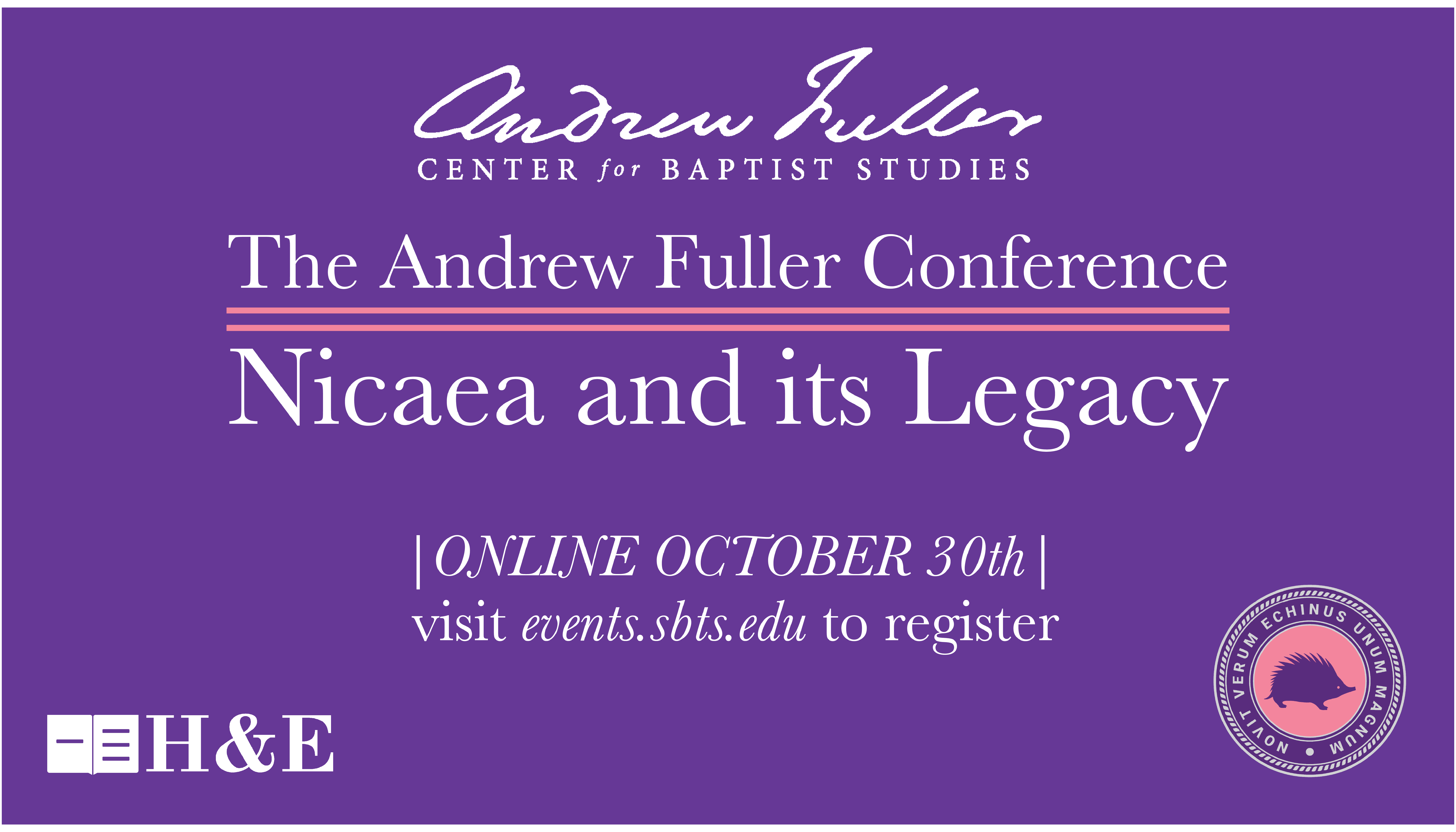 Andrew Fuller Conference Oct. 30