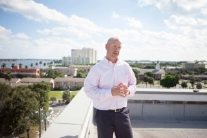 Jimmy Scroggins has served since 2008 as lead pastor of First Baptist Church in West Palm Beach, located on the Intracoastal Waterway in the city's downtown (SBTS photo by Emil Handke).