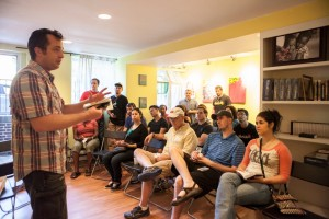 Jim Stitzinger, director of the Bevin Center for Missions Mobilization at The Southern Baptist Theological Seminary in Louisville, Kentucky, addressed students from the seminary and members of the Garden Church participating in Crossover activities in inner city Baltimore, Maryland.
