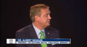 "R. Albert Mohler Jr. during ""The Changing Face of Marriage"" forum in Cincinnati, Ohio, April 15"