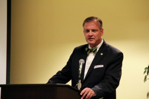 Southern Seminary President R. Albert Mohler Jr. presents a workshop lecture on the sexual revolution at the TGC National Conference, April 14.