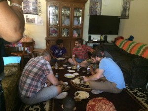 Southern Seminary students visit a Nepali home in Columbus, Ohio.