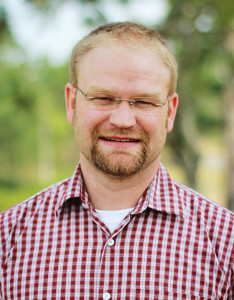 Jonathan Arnold, assistant professor of Christian theology and church history at Boyce College