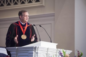 "Southern Seminary President R. Albert Mohler Jr. delivers an Aug. 25 convocation address, ""Until There Was No Remedy,"" on the importance of gospel proclamation in the face of opposition."