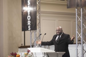 H.B. Charles Jr., pastor of Shiloh Metropolitan Baptist Church in Jacksonville, Florida, appeared at Southern Seminary's Expositors Summit for the third consecutive year.