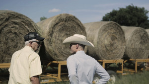 Southern Seminary alumnus John Powell (right), pastor of First Baptist Church, Hamlin, Texas, often spends time with church members on their farms and businesses.