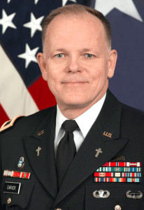 Retired Army Major General Doug Carver, executive director of chaplain services for North American Mission Board