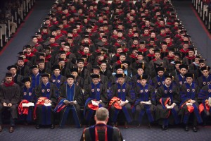 230 men and women received their master's or doctoral diplomas during the Dec. 11 commencement.