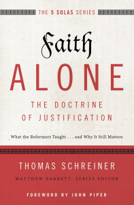 """Faith Alone"" is the first five books in Zondervan's ""Five Solas"" series set to release over the next two years."