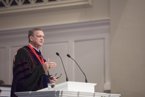 "Southern Seminary President R. Albert Mohler Jr. delivers a Feb. 2 convocation address, ""If the World Hates You,"" from John 15:12-26."