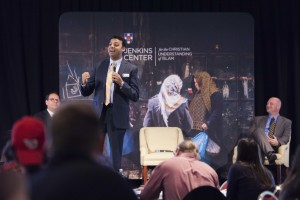 Ayman S. Ibrahim, Bill and Connie Jenkins Assistant Professor of Islamic Studies at Southern Seminary, discusses reaching Muslims during the Great Commission Summit.