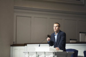 David Platt, president of the International Mission Board