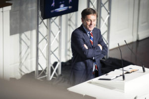 Alistair Begg, senior pastor  of Parkside Church in Cleveland, Ohio, preaches during the 2016 Expositors Summit.