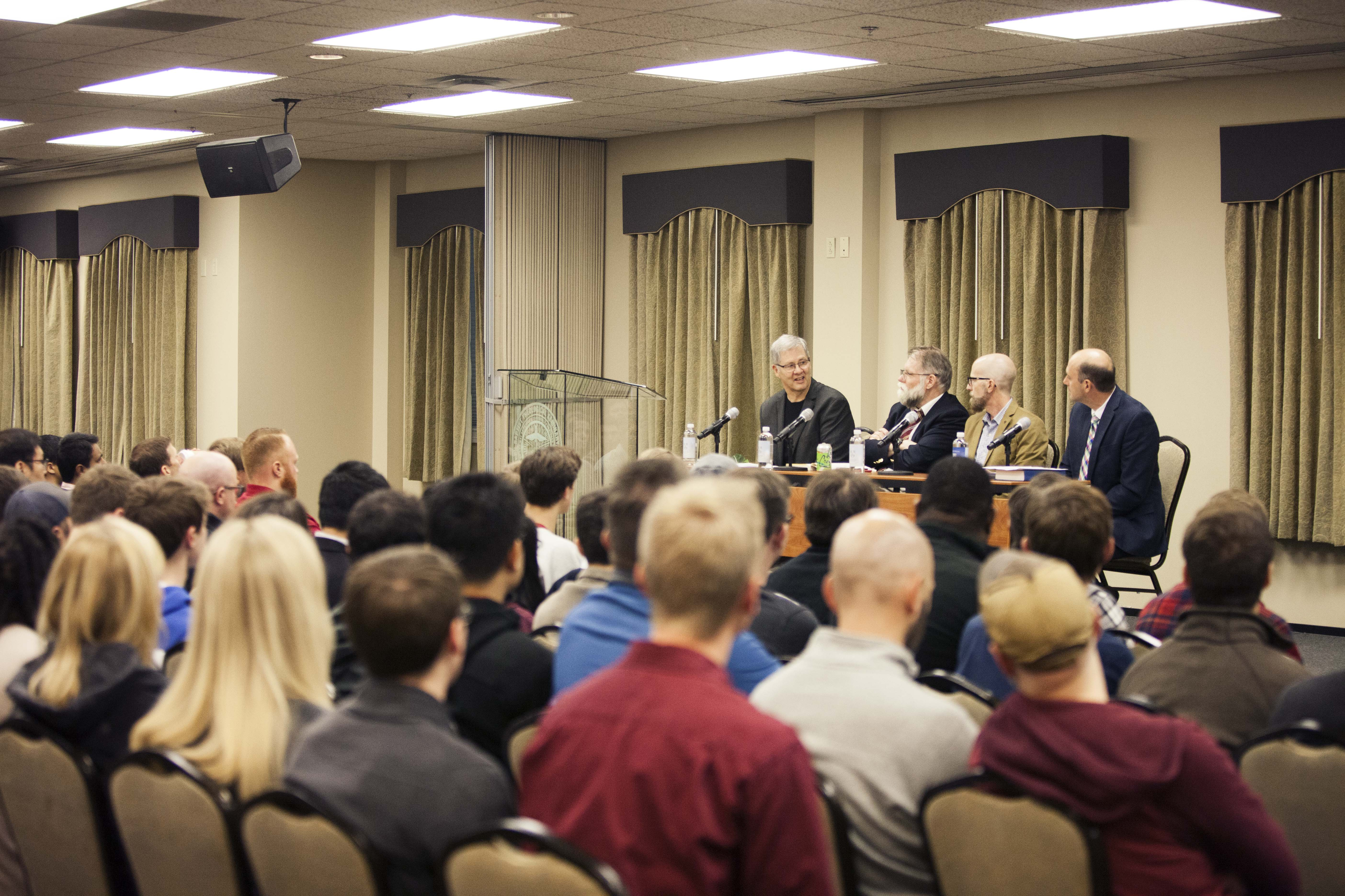 Southern Seminary hosts Greek scholar Bill Mounce for a panel