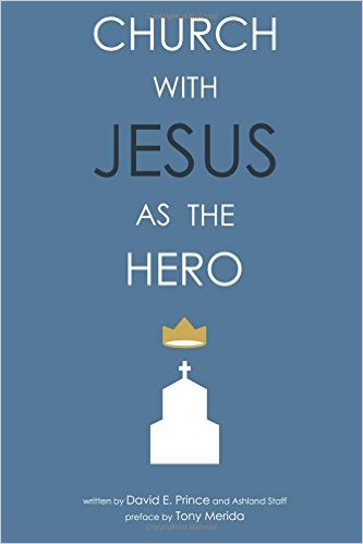 Church with Jesus as the Hero