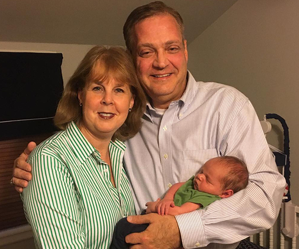Dr. and Mrs. Mohler welcome Benjamin Barnes