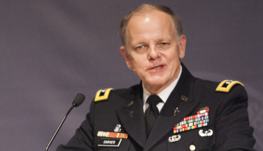 General Doug Carver at the Night of Valor