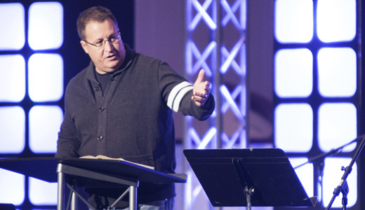 Dan Dumas at the Renown Youth Conference