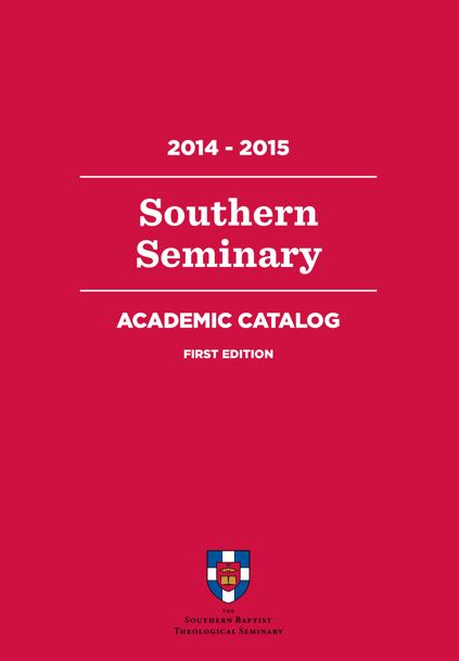 'Academic Catalog' from the web at 'http://www.sbts.edu/wp-content/uploads/sites/3/2015/03/Catalog-cover.jpg'